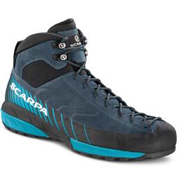 Scarpa Mescalito GTX Mid Shoes Men ottanio/lakeblue